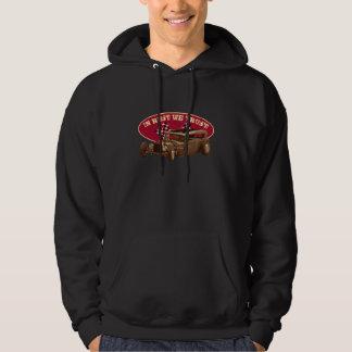 In rust we trust with Rat Rod Hooded Sweatshirts