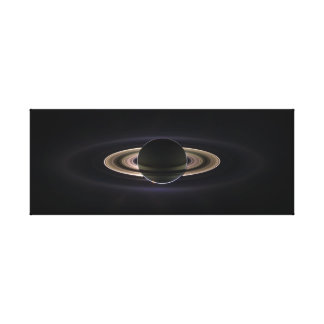 In Saturn's Shadow Canvas Prints