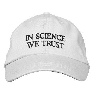 In Science We Trust Baseball Cap