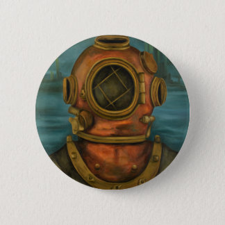 In Search Of Atlantis 6 Cm Round Badge