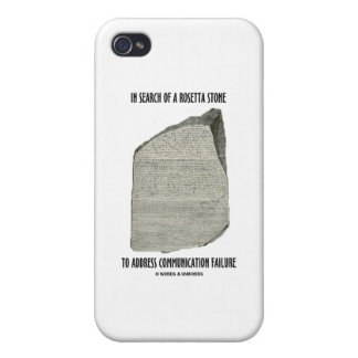 In Search Of Rosetta Stone Address Communication iPhone 4/4S Cases