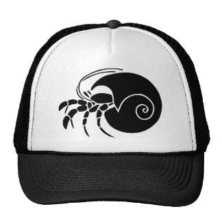 in settler cancer along crab snail mesh hats