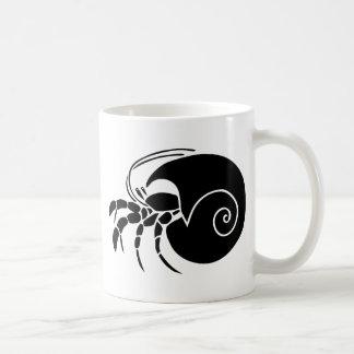 in settler cancer along crab snail coffee mug