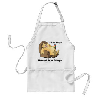 In shape cat adult apron