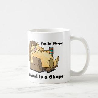 In shape cat mugs