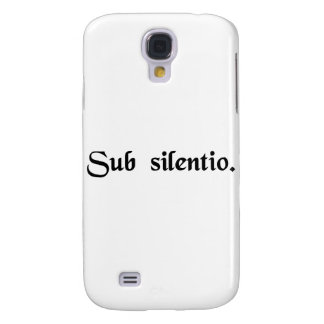 In silence samsung galaxy s4 case
