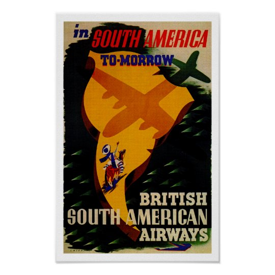 In South America Tomorrow Poster