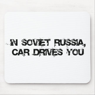 In Soviet Russia, Mouse Pad