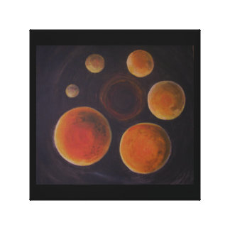 In Space Stretched Canvas Print