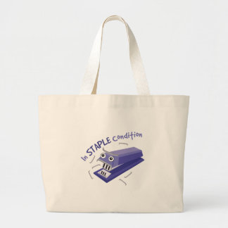 In Staple Condition Jumbo Tote Bag