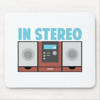In Stereo Mouse Pad