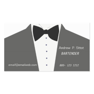 In Style Man Suit Modern Upscale Fashion Pack Of Standard Business Cards