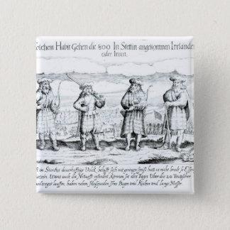 In Such Attire did Irishmen 15 Cm Square Badge