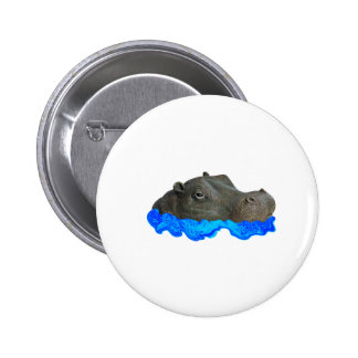 IN T HE WATER 6 CM ROUND BADGE