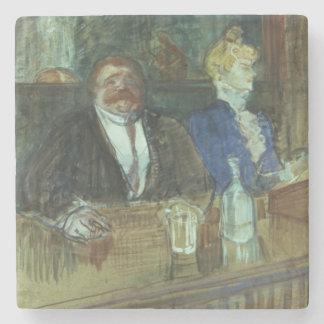 In the Bar: The Fat Proprietor Stone Coaster