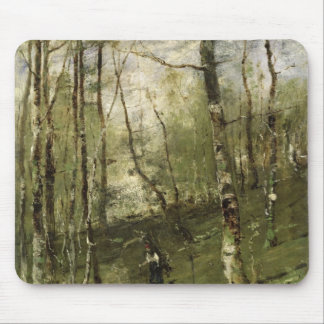 In the Barbizon Woods in 1875 Mouse Mat
