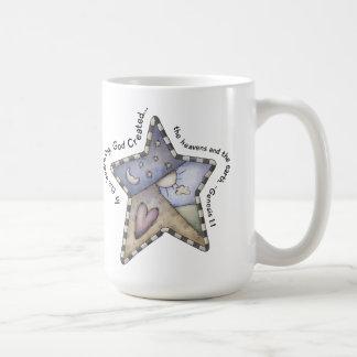 In The Beginning Classic White Mug