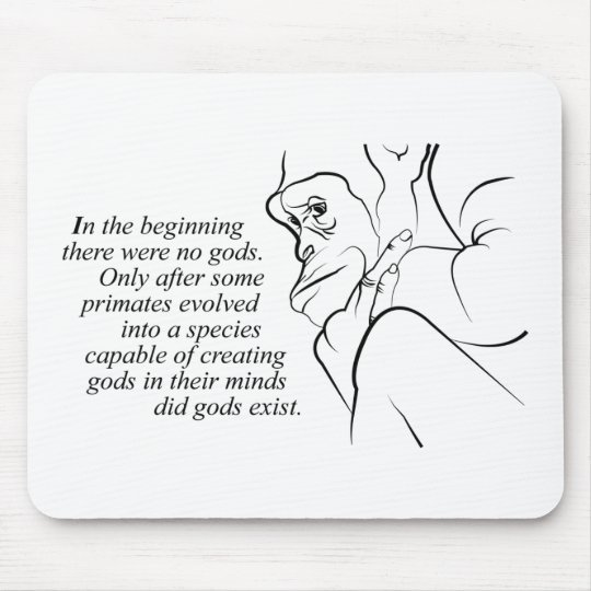 In the beginning mouse mat