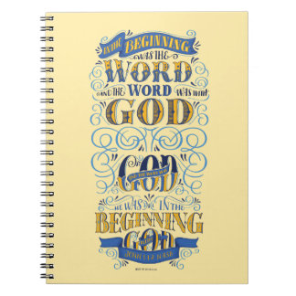 In the Beginning Was the Word Notebooks