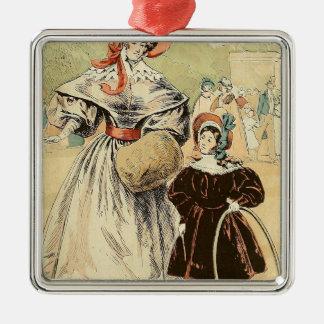 In the Champs-Élysées 1832 Christmas Ornament