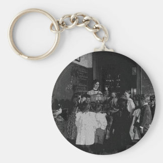 In the Classroom Basic Round Button Key Ring