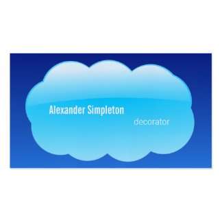 In the Cloud Business Cards
