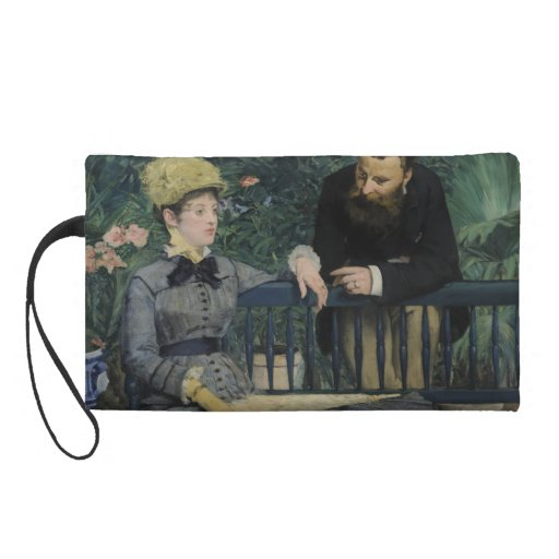 In the Conservatory by Edouard Manet Wristlet