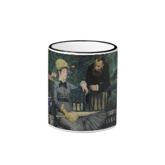 In the Conservatory by Edouard Manet Coffee Mug