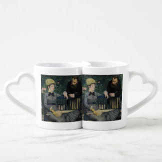 In the Conservatory by Edouard Manet Lovers Mug