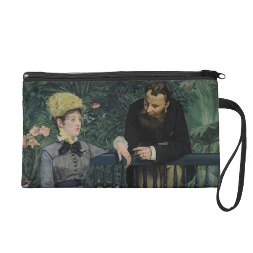 In the Conservatory - Édouard Manet (1879) Wristlet
