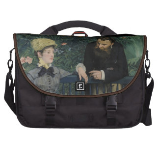 In the Conservatory - Édouard Manet (1879) Laptop Computer Bag