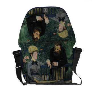 In the Conservatory - Édouard Manet 1879 Courier Bags