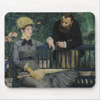 In the Conservatory - Édouard Manet 1879 Mousepad