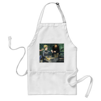 In the Conservatory, Édouard Manet Adult Apron