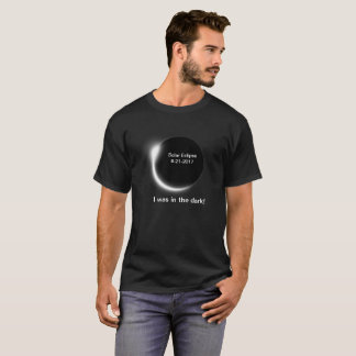 In the dark about the solar eclipse? T-Shirt