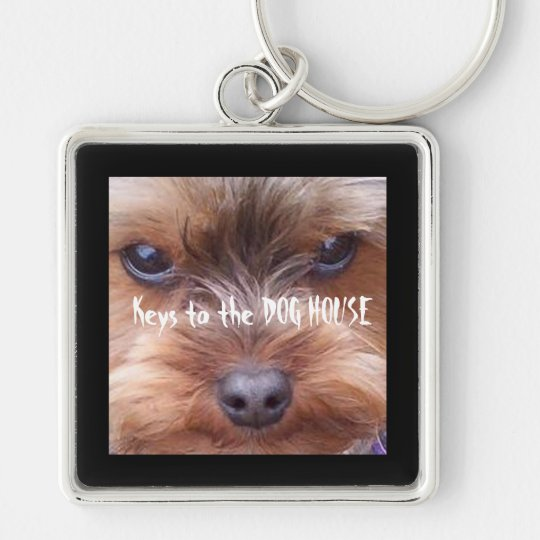 In the Dog House Key Ring