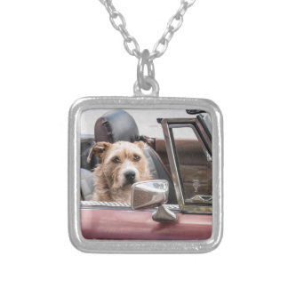 In The Driver's Seat - Sort of Silver Plated Necklace