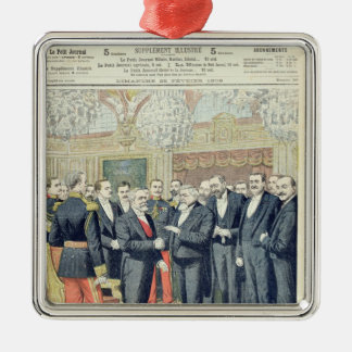 In the Elysee Palace, the Ceremonial Transfer Christmas Ornament