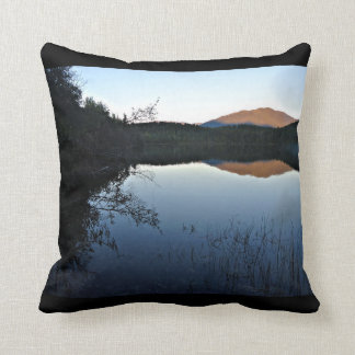 In the evening at the lake cushion