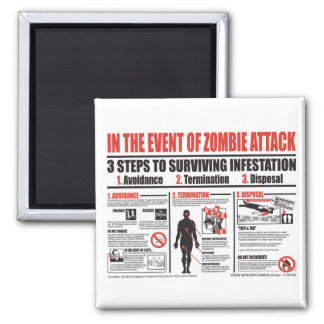 In The Event of Zombie Attack MAGNET
