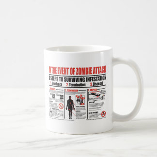 In The Event of Zombie Attack MUG