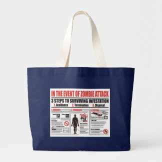 In The Event of Zombie Attack TOTE BAG