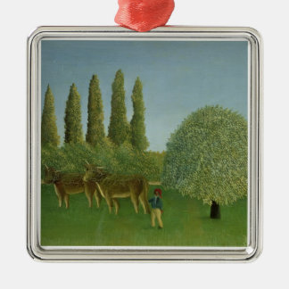 In the Fields, 1910 Christmas Ornament
