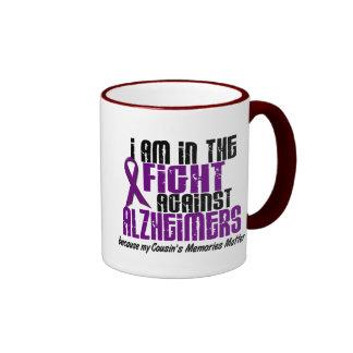 In The Fight Against Alzheimer's Disease COUSIN Ringer Mug