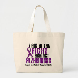 In The Fight Against Alzheimer's Disease MOTHER Jumbo Tote Bag