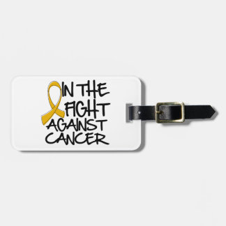 In The Fight Against Appendix Cancer Travel Bag Tag