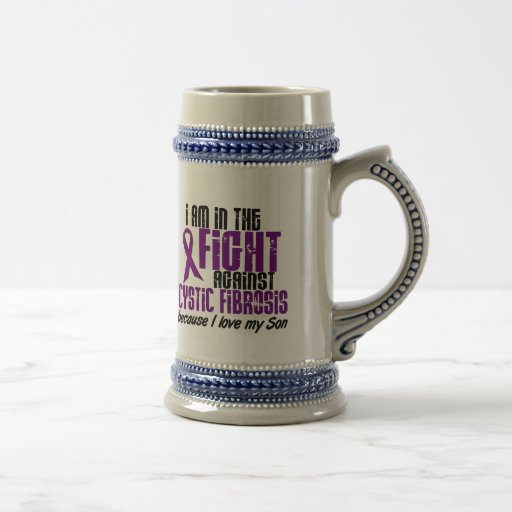 In The Fight Against Cystic Fibrosis SON Coffee Mugs