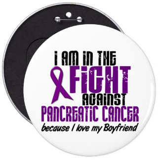 In The Fight Against Pancreatic Cancer BOYFRIEND Pin