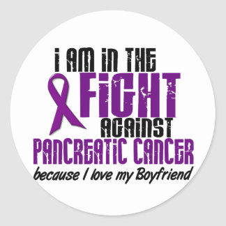 In The Fight Against Pancreatic Cancer BOYFRIEND Stickers
