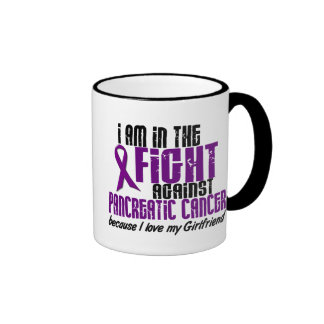 In The Fight Against Pancreatic Cancer GIRLFRIEND Mug